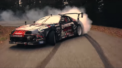 Photo of Toyota Supra mk4 a driftování v horách