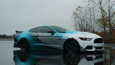 Photo of Ford Mustang S550 na vzduchu