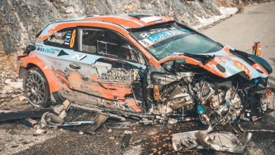 Photo of Rallye Monte Carlo 2020 Crash v 178km/h