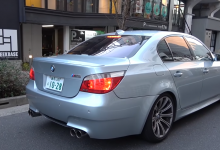 Photo of BMW M5 E60 s výfukem za $14,000!