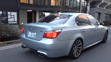 Photo of BMW M5 E60 s výfukem za $14,000!