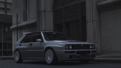 Photo of Brumbál a jeho Lancia Delta Integrale