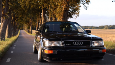 Photo of AUDI V8 D11 QUATTRO (HD video)