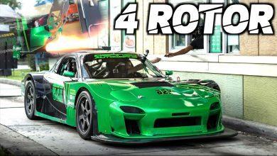 Photo of RX-7 se 4 rotory umí řvát jako o život!