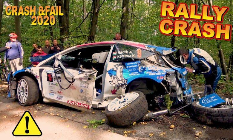 rallye_crash_nehody_kompilace