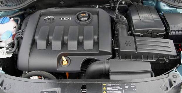 1,9 TDI motor